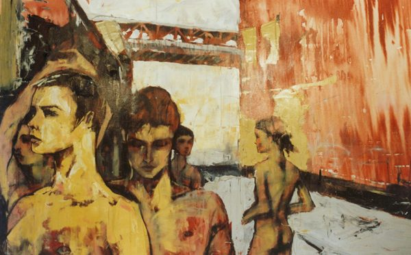 0053 the young spartans 153 x 97cm