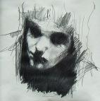 """""""Pulvis et umbra"""", pencil on paper, 29 x 29 cm, 2009"""