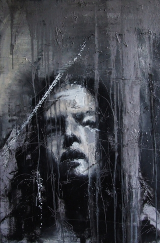 """""""Requiem (for the now forgotten)"""", oil on canvas, 61 x 91 cm, 2009"""