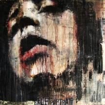 """""""Jocelin's nail"""", oil on canvas, 91 x 91 cm, 2010"""