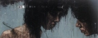 """""""fanno lamenti in su li alberi strani"""", oil on canvas, 152 x 61 cm, 2010"""