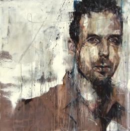 """""""Portrait of Antony Micallef"""", oil on canvas, 61 x 61 cm, 2011"""