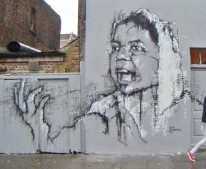 Brick Lane area London, UK