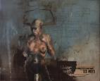 """""""Ce serait dans la nuit suivant les obsèques"""", oil on canvas, 46 x 38 cm, 2013"""