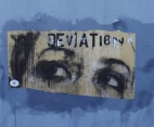 On a wall in France.