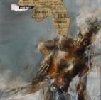 """""""Les epidemies"""", oil on canvas, 20 x 20 cm, 2014"""