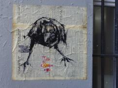 paste-up drawing, Paris