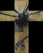 'ch'io 'l vidi uomo di sangue e di crucci', oil on canvas, 78 x 62cm