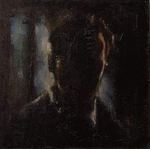 'feeding the fifth terrace', oil on board, 23 x 23 cm, 2011