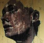 """Matrix Churchill"", oil on canvas, 99 x 99 cm, 2010"