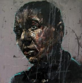 """Sykes-Picot"", oil on canvas, 60 x 60 cm, 2010"