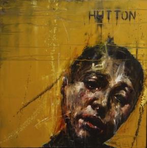 """""""Hutton"""", oil on canvas, 91 x 91 cm, 2010"""