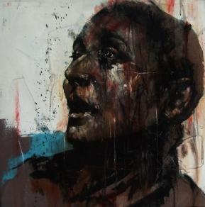 """""""Public Interest"""", oil on canvas, 61 x 61 cm, 2010"""