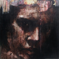 'Nel mezzo del cammin di nostra vita mi ritrovai per una selva oscura', oil on canvas, 91 x 91cm