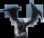 'per ch'una gente impera e l'altra langue, seguendo lo giudicio di costei, che è occulto come in erba l'angue', oil on canvas, 200 x 200 cm