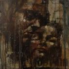 'summae deus clementiae', oil on board, 50 x 50cm