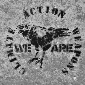 Crow stencil...
