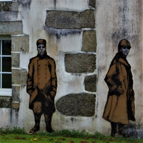 la feuillee armistice centenaire paste-up