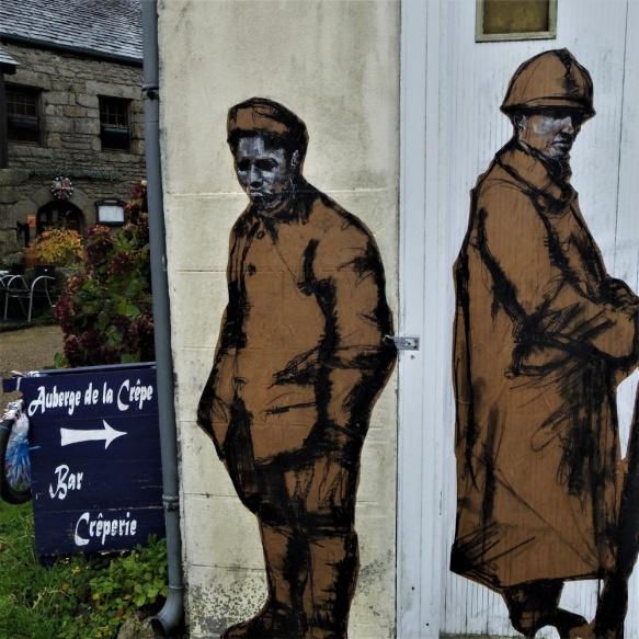 La Feuillee armistice centenaire paste-up